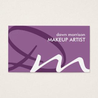 Soft Monogram Business Cards