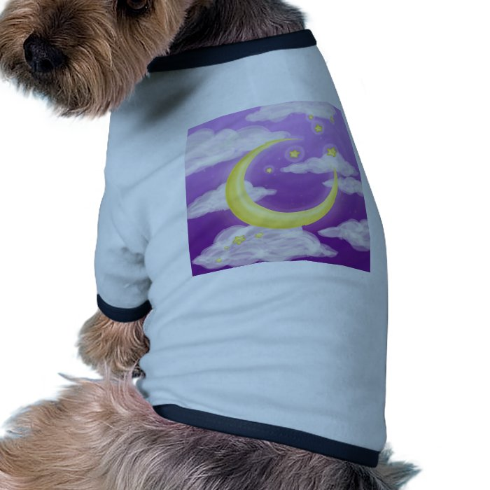 Soft Moon on Purple Tee