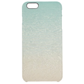 """SOFT-MUTED CARIBBEAN COLORS /SEA&SAND"" UNCOMMON CLEARLY™ DEFLECTOR iPhone 6 PLUS CASE"