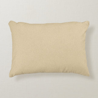 Soft Natural Sand Background Accent Pillow