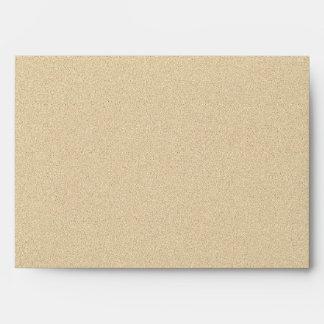 Soft Natural Sand Background Envelope