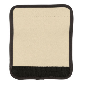 Soft Natural Sand Background Luggage Handle Wrap