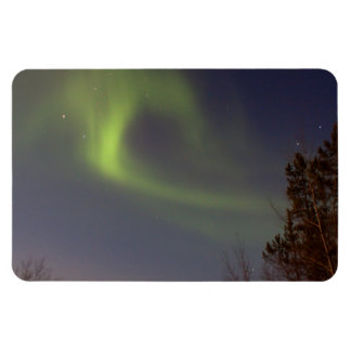 Soft Northern Lights Rectangle Magnets