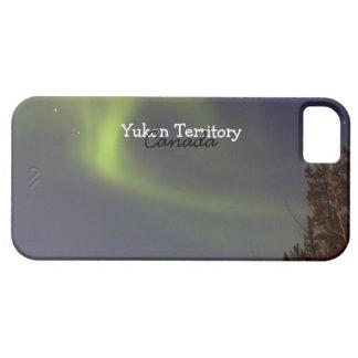 Soft Northern Lights; Yukon Territory Souvenir iPhone 5 Cases