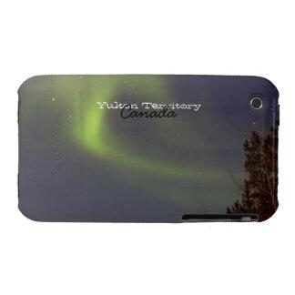 Soft Northern Lights; Yukon Territory Souvenir iPhone 3 Covers