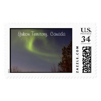 Soft Northern Lights; Yukon Territory Souvenir Postage