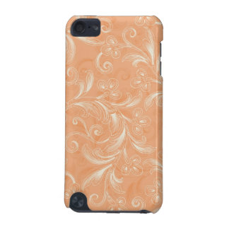 Soft Orange Swirls iPod Touch (5th Generation) Cover