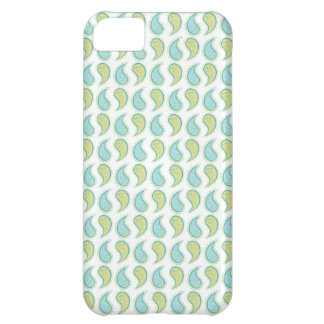 Soft Paisley Cover For iPhone 5C