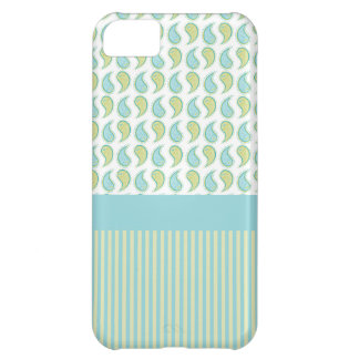 Soft Paisley iPhone 5C Covers