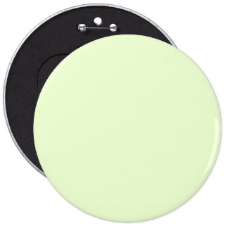 Soft Pale Celery Green Pastel for Summer Gazebo 6 Inch Round Button
