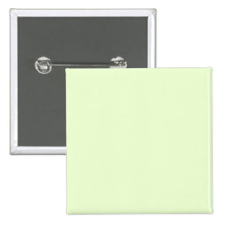 Soft Pale Celery Green Pastel for Summer Gazebo 2 Inch Square Button