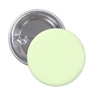 Soft Pale Celery Green Pastel for Summer Gazebo 1 Inch Round Button