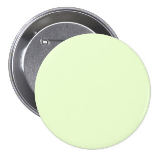Soft Pale Celery Green Pastel for Summer Gazebo 3 Inch Round Button