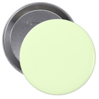 Soft Pale Celery Green Pastel for Summer Gazebo 4 Inch Round Button