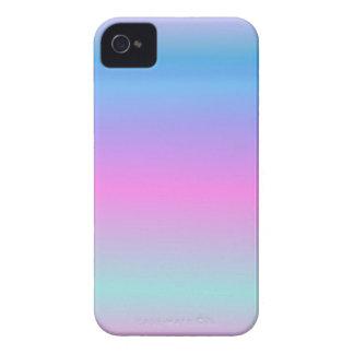 Soft Pale Rainbow iPhone 4 Case