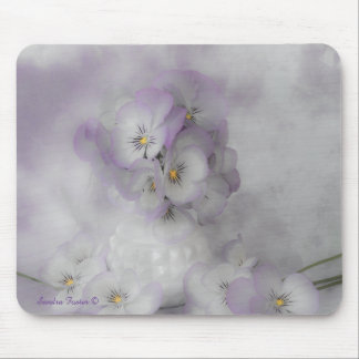Soft Pansies Mouse Pad