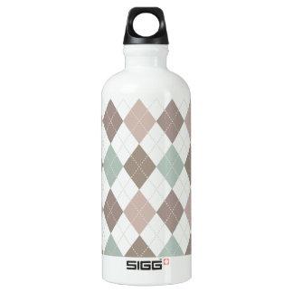 Soft Pastel Argyle Pattern SIGG Traveler 0.6L Water Bottle