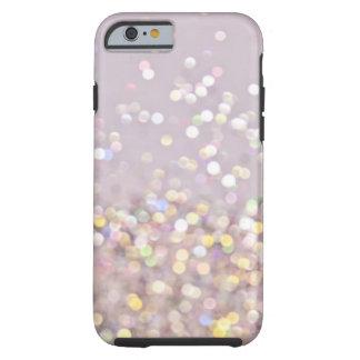 Soft Pastel Bokeh Sparkles Tough iPhone 6 Case