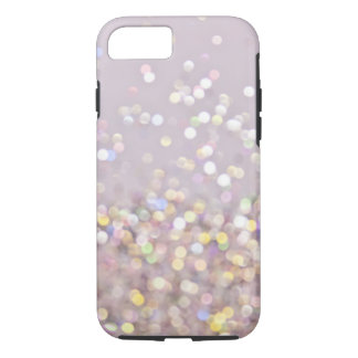 Soft Pastel Bokeh Sparkles iPhone 7 Case