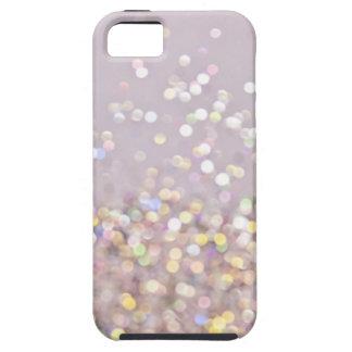 Soft Pastel Bokeh Sparkles iPhone SE/5/5s Case