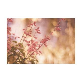 Soft Pastel Floral Branches Canvas Prints