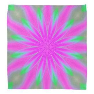 Soft pastel flower design Bandana