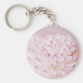 Soft Pastel Flower Photography Key Chain