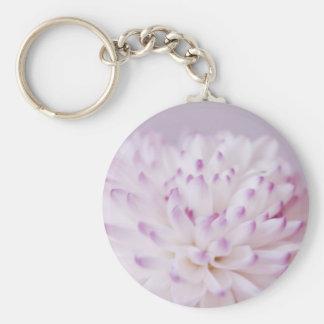 Soft Pastel Flower Photography Keychains
