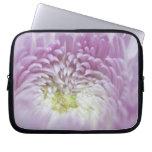 Soft Pastel Lavender Flower Laptop Sleeve