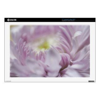 Soft Pastel Lavender Flower Laptop Skin