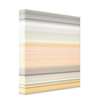 Soft Pastel Stripe Pattern Canvas Print