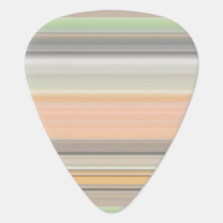 Soft Pastel Stripe Pattern Guitar Pick