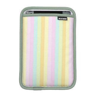 Soft Patels Vertical Stripes Pattern Sleeve For iPad Mini