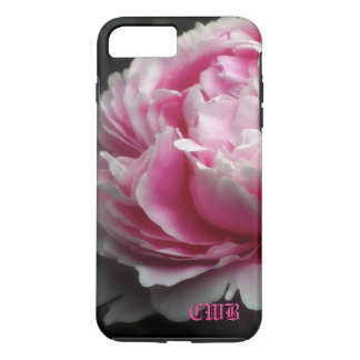 Soft Peony Elegant Floral iPhone 7 Plus Case