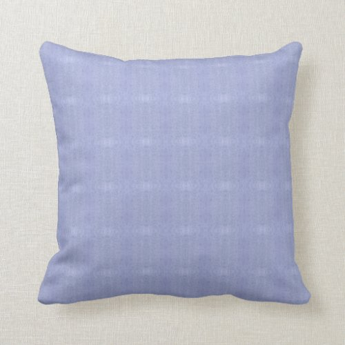 Soft Periwinkle Throw Pillow