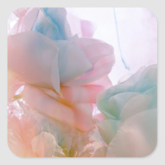 Soft Petals collection original photography by Lis Square Sticker