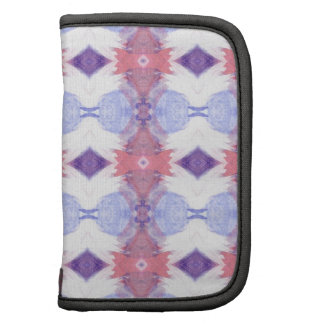Soft Pink and Blue Diamond Patterned Planner