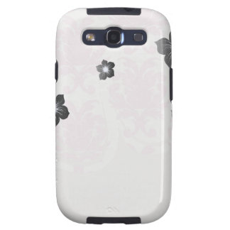 soft pink and white fleur damask samsung galaxy s3 covers
