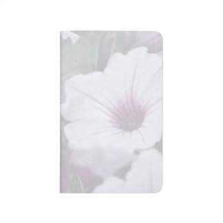 Soft Pink And White Petunias Journal