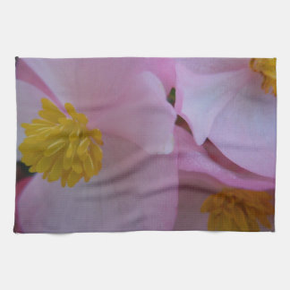 Soft Pink Begonia - A Summer Rainbow Towel
