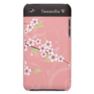 Soft Pink Cherry Blossom Barely There iPod Case