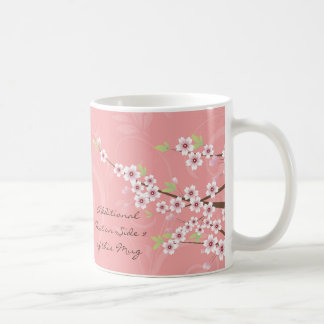 Soft Pink Cherry Blossom Coffee Mug