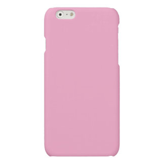 Soft Pink Color Matte iPhone 6 Case