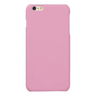 Soft Pink Color Matte iPhone 6 Plus Case