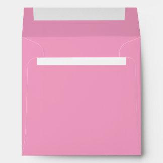 Soft Pink Color Square Envelopes