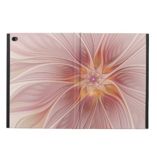 Soft Pink Floral Dream Abstract Fractal Art Flower Powis iPad Air 2 Case