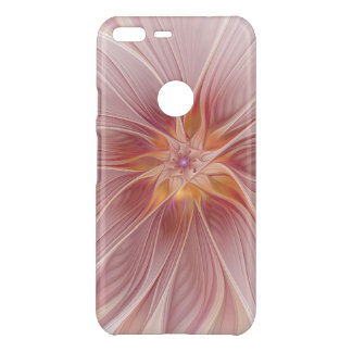 Soft Pink Floral Dream Abstract Modern Flower Uncommon Google Pixel XL Case