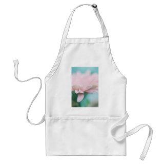 Soft Pink Gerbera Daisy Adult Apron