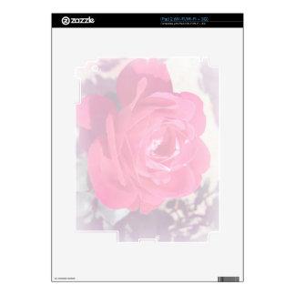Soft Pink Haze Rose iPad 2 Skins