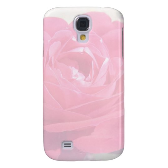 Soft Pink Haze Rose Samsung Galaxy S4 Cover